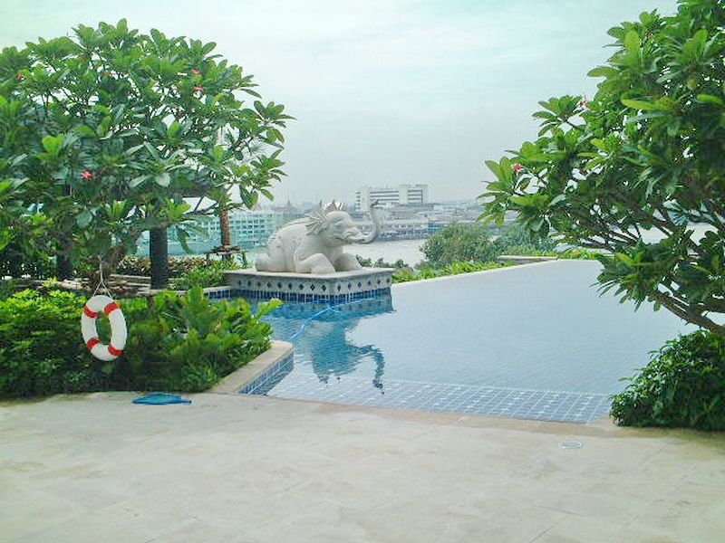 2 Bed Condo, Sathorn, Stunning Chao Phraya City View