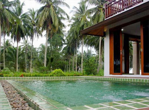 Modern pool villas for sale