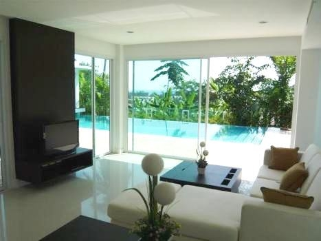 Ocean view villas in Kata for sale